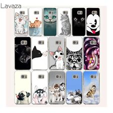 Phone Case Cover Lovely Cartoon Cat Dog for Samsung Galaxy S7 S6 Edge S9 S8 Plus