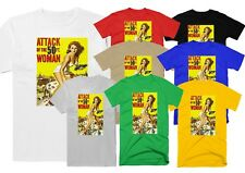 ATTACK OF THE 50 FT WOMAN , MOVIE, 100% COTTON,MEN'S T-SHIRT.,E0164