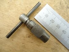 Small * MOORE & WRIGHT * T-Bar Chuck Type Tap Wrench ~ Would suit BA Taps
