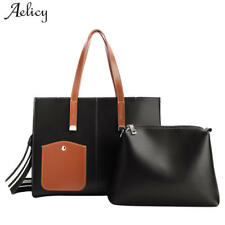 Aelicy Composite Bag Set for Women Bag PU Leather Shoulder Handbag Female