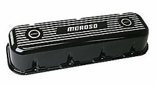 Moroso 68432 Valve Covers Big Block Chevy Ribbed, Tall Design