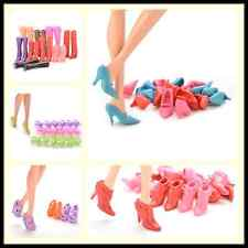 Multiple Choice Mix Shoes Boots for Barbie Doll Girls Play House Gift RS