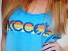 the Chive *Authentic* Sunset Palm KCCO Tank Top Pink or Blue S M L XL