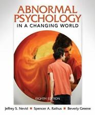 Abnormal Psychology in a Changing World (8th Edition)