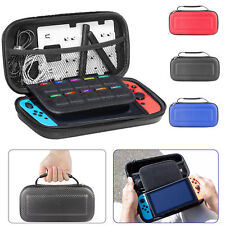 Fit For Nintendo Switch Carbon Fiber Carry Case Hard Shell Portable Travel Bags