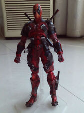 10'' Play Arts Kai PA Deadpool Marvel Variant Action Figure Toy Statue Model