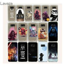 For Galaxy S8 S7 S6 Edge Samsung S9 Plus Cover Case Hard Slim Back Covers N0278