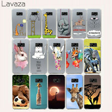 For Galaxy S8 Plus S7 S6 Edge Samsung S9 Case Cover Print Slim Skin Covers N0255