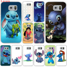 For Galaxy Samsung S7 S6 Edge S8 S9 Plus Cartoon print cute Back Case Cover Hard