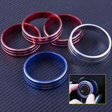 3x Heater Climate Control Buttons Knobs Cover Trim Ring For Lancer Outlander