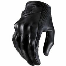 Outdoor Sports Motorcycle Gloves Real Leather Touch Screen  Racing Motorbike