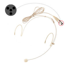 Pro Omni-directional Headset Headworn Microphone for Shure Wireless MIC System.