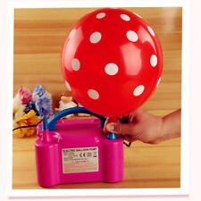 Party Decor Electric Air Pump Balloons Inflator with Double Hole Air Compressor