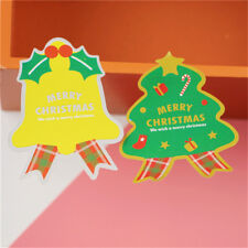 40Pcs Merry Christmas package Seal Sticker Xmas bell Gift Label Stic P Ju