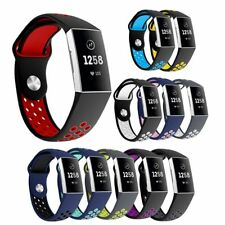 For Fitbit Charge 3 Replace Strap Band Bracelet Silicone Wristband Watch Bands