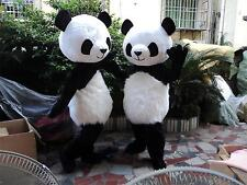 Chinese Panda Bear Mascot Hot New Adults Dress Birthday Party game Costume suits
