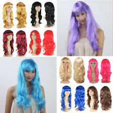 Unique Cosplay Party Wigs Fancy Dress Women Natural Curly Wavy Halloween Wigs Gt