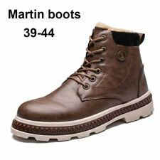 Men's High-top Casual Ankle Boots Winter Warm Plus Velvet Outdoor Military Shoes