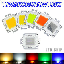 10W 20W 30W 50W 100W LED Chips SMD Lamp Bulb Bead For Flood Light High Power LED
