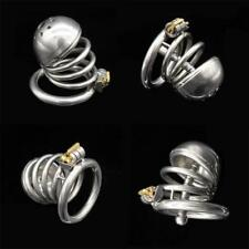 Male Stainless Chastity Device Cage Urethral Tube Bondage