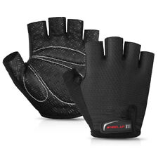Cycling Gloves Half Finger Anti Skid Breathable Safety Sports Wear Accessories