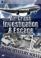 Air Crash Investigation And Escape (DVD, 2006) BRAND NEW AND SEALED FREE UK POST
