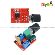 1/2/5PCS DC 5A Mini Motor PWM Speed Controller 3V-35V Control Switch LED Dimmer