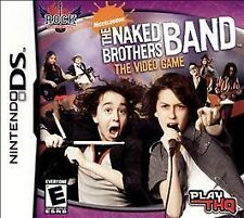 The Naked Brothers Band - The Video Game (Nintendo DS) New Sealed