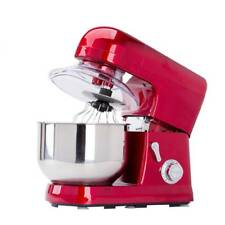 NZL Electric Food Stand Mixer Stainless Steel Bowl Tilt-Head 1200W 5L 6 Speed