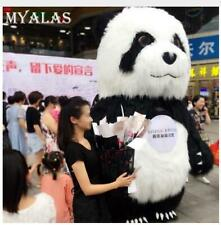 2.6m/3m Inflatable Panda Bear Mascot Costume Suit Advertising Adult Dress Outfit