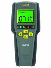 Moisture Meter Detector Pinless Digital LCD With Tricolor Bar Graph 9V Battery
