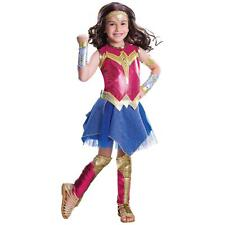 Batman v Superman: Dawn of Justice - Girls Deluxe Wonder Woman Costume by Rubies