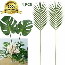 Artiflr Faux Palm Leaves With Stems Artificial Tropical Plant Imitation Safari L