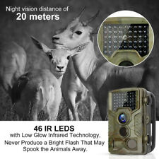 1080P HD 16MP Hunting Trail Camera Wildlife Scouting IP65 IR LED Night Vision OB