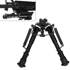 "6-9"" Adjustable RifleBipod Picatinny/Weaver/Rial/Shootgun 11/20mm QD Rail Mount"