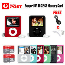 iPod Style LCD With Up TO 32GB Memory MP3 MP4 Video Music FM Media Player Radio