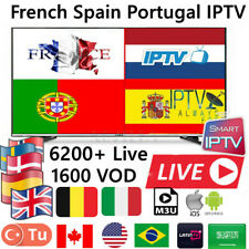 IPTV SUBSCRIPTION 1 YEAR - Premium LiveTV & VOD + PPV USA/IPTV CANADA UK INDIA