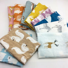 new Cotton Baby Blankets Newborn Soft Organic Cotton Baby Blanket Muslin Swaddle