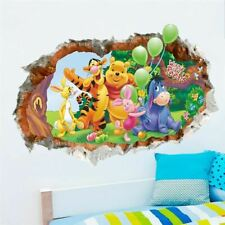 1 Pc Animals zoo cartoon Winnie Pooh HOME bedroom decals wall stickers for kids