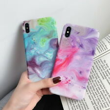 For iPhone 11 Pro Max Xs Max XR 7 8 Plus 6s Luxury Painting Hard PC Case Cover