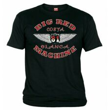 01 Hells Angels Wings  Black T-Shirt Support81 Big Red Machine