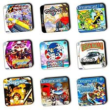 Sega Dreamcast Games Box Art themed - Wooden Coasters - Gaming Gifts - Multi-Buy