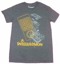 Intellivision Mens T-Shirt- Controller & System Lined Schematics Image