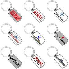 Games Consoles Retro Keyrings - Metal - Logo's - Metal - Gifts - Gaming Consoles