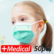 DISPOSABLE SURGICAL FACE MASK DENTAL DUST FLU VIRUS MOUTH 3 PLY & MASKS