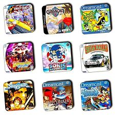 Dreamcast Games - Dreamcast Retro Box Art  - Wooden Coasters - Gaming - 4 For 3