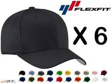 New Flexfit Hat Baseball Cap Fitted Black L/XL S/M 6277