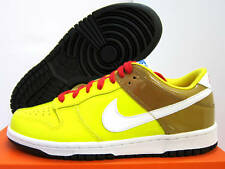 NEW NIKE YOUTH DUNK LOW SPONGEBOB [310569-711]  YOUTH US 6.5 = EUR 39