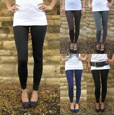 EXTRA LONG Leggings Viscose Elastane BLACK SIZES 8 - 24  Tall