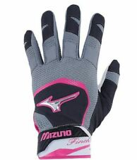 Under Armour UA Metal Batting Gloves Save 50%!! Blk/Gry
